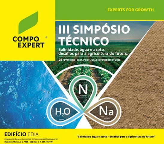 III Simposio Técnico COMPO EXPERT, en Beja 28/02/2018